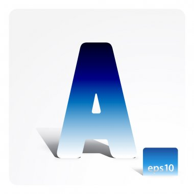 Stock letter A