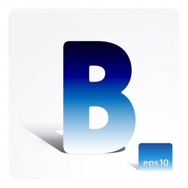 Stock letter B