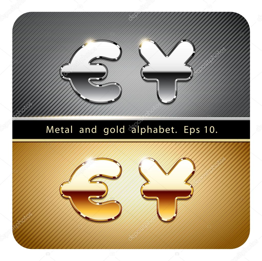 Currency Symbols Dollar And Euro Stock Vector Mrster 73205591