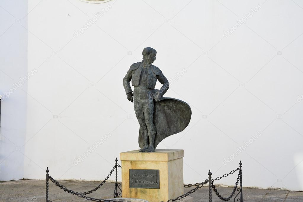 Bullfighter monument