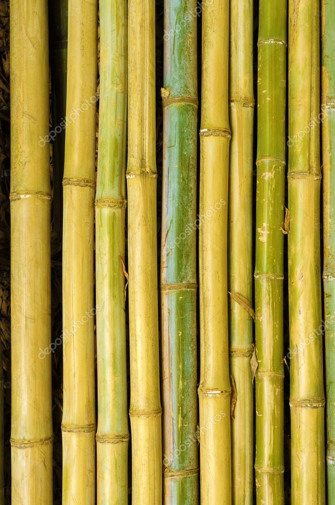 Antiguo Fondo De Palos De Bambu Vertical Foto De Stock - Palos-de-bambu