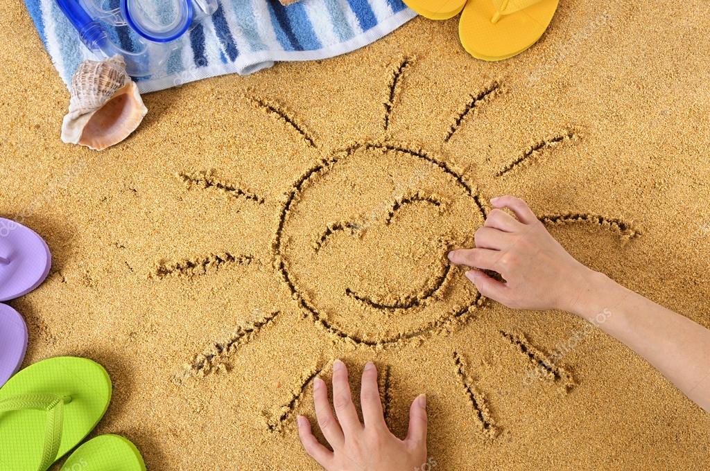 предложениями игры на песке с картинками жучки