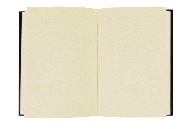 Plain hardback book