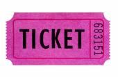 Fialové nebo růžové lístek