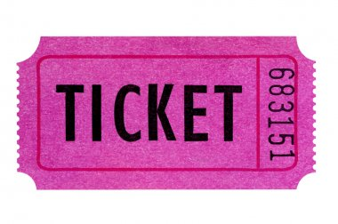 Purple or pink ticket