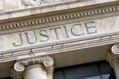 Fotografie Justice sign