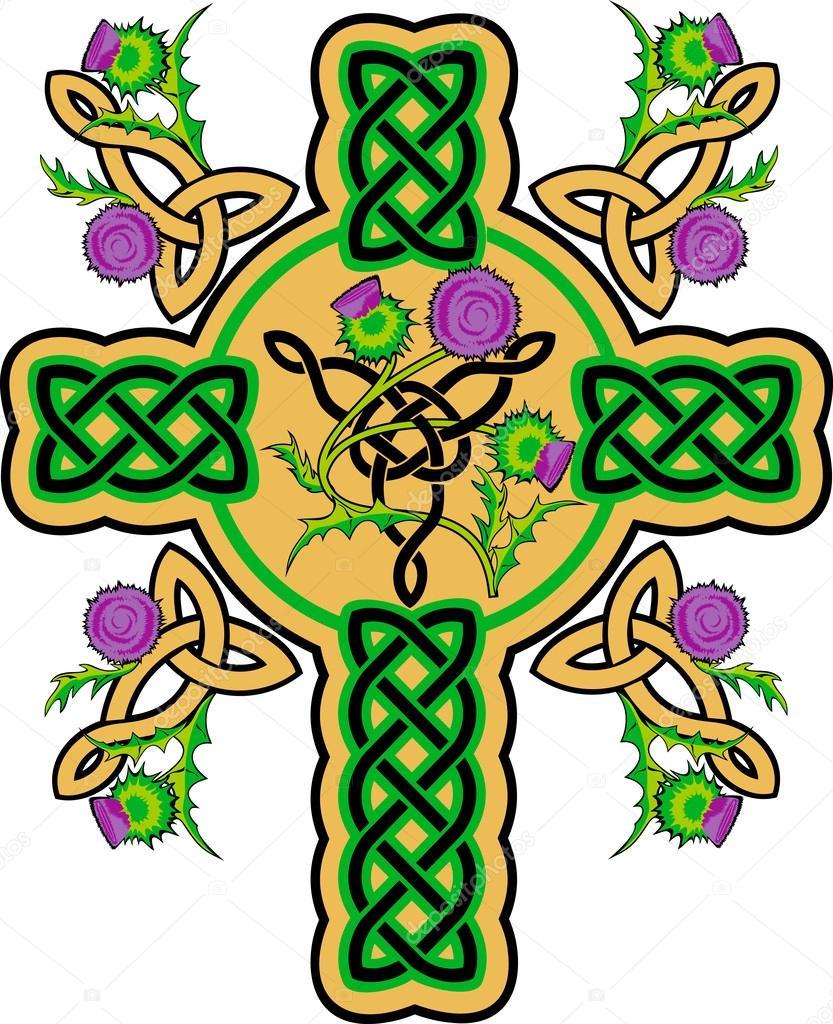 Cruz celta — Archivo Imágenes Vectoriales © oscarmcwhite #62767795