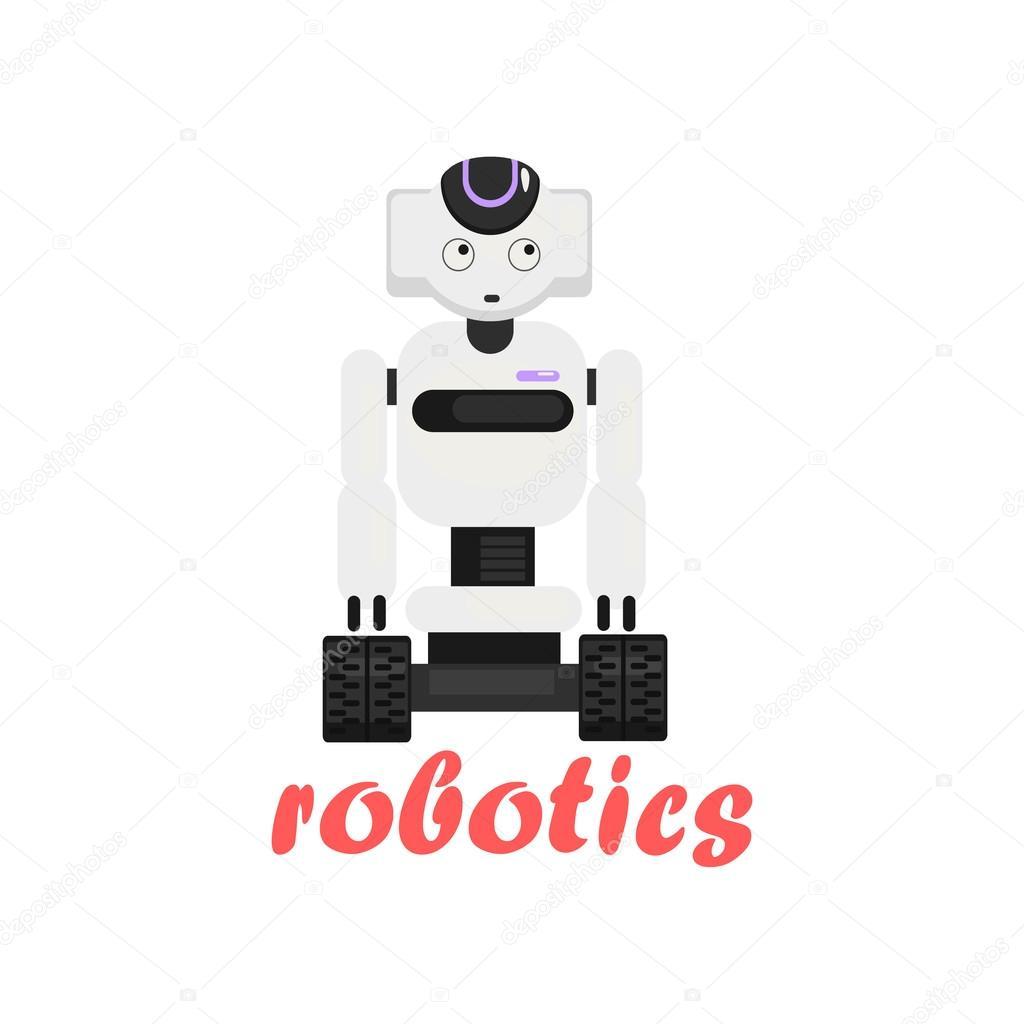 Japaneese Robot Cartoon Style Icon Stock Vector C Topvectors