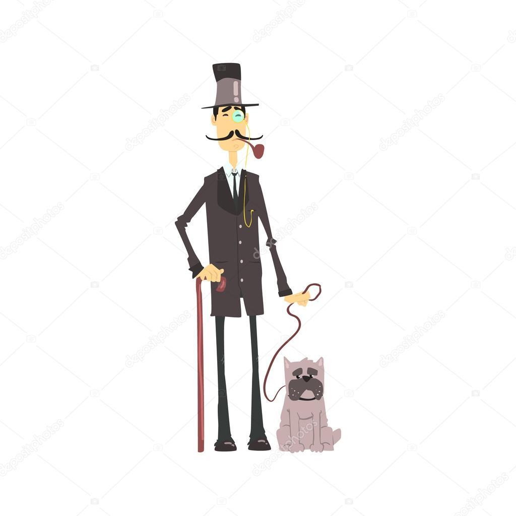 Afbeeldingsresultaat voor gentleman tekening