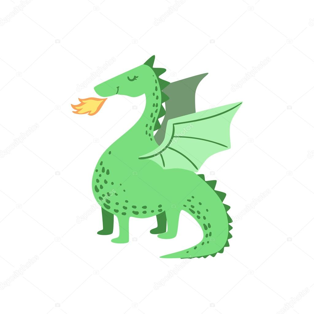 fairytale dragon drawing u2014 stock vector topvectors 109562724
