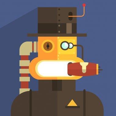 Magnate Robot Character