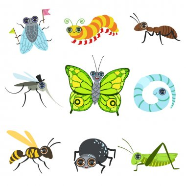 Insect Cartoon Images Collection