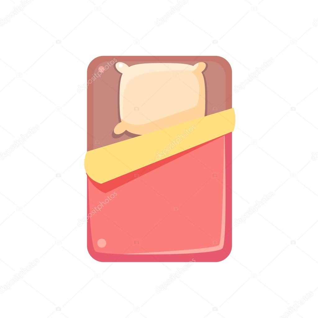 lit vue d en haut image vectorielle topvectors 114977026. Black Bedroom Furniture Sets. Home Design Ideas