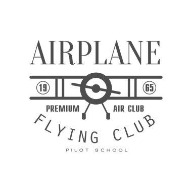 Premium Air Club Emblem Design