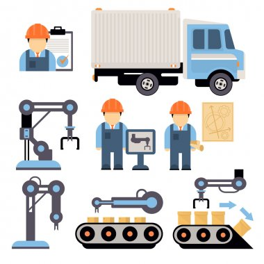 Production Process Illustration