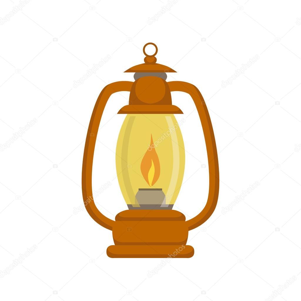 Old-school Kerosene Lamp — Stock Vector © TopVectors #118615544 for Kerosene Lamp Clipart  111bof