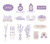 Vintage lavender background
