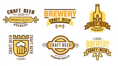 Design template for beer house,
