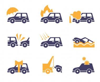 Car Service Icons,