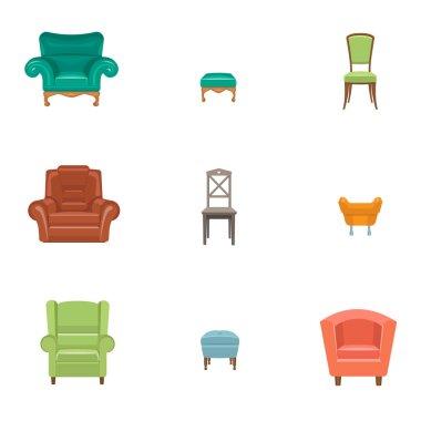 furniture icon set.