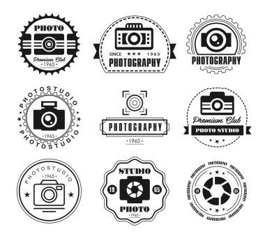 Photo studio logo.