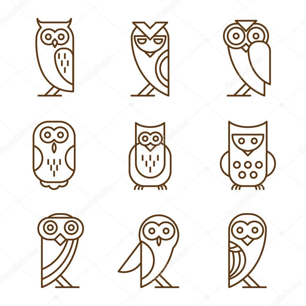 Barn linear owls