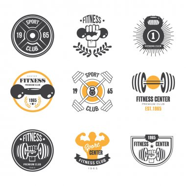 Sport and Fitness Logo Templates,