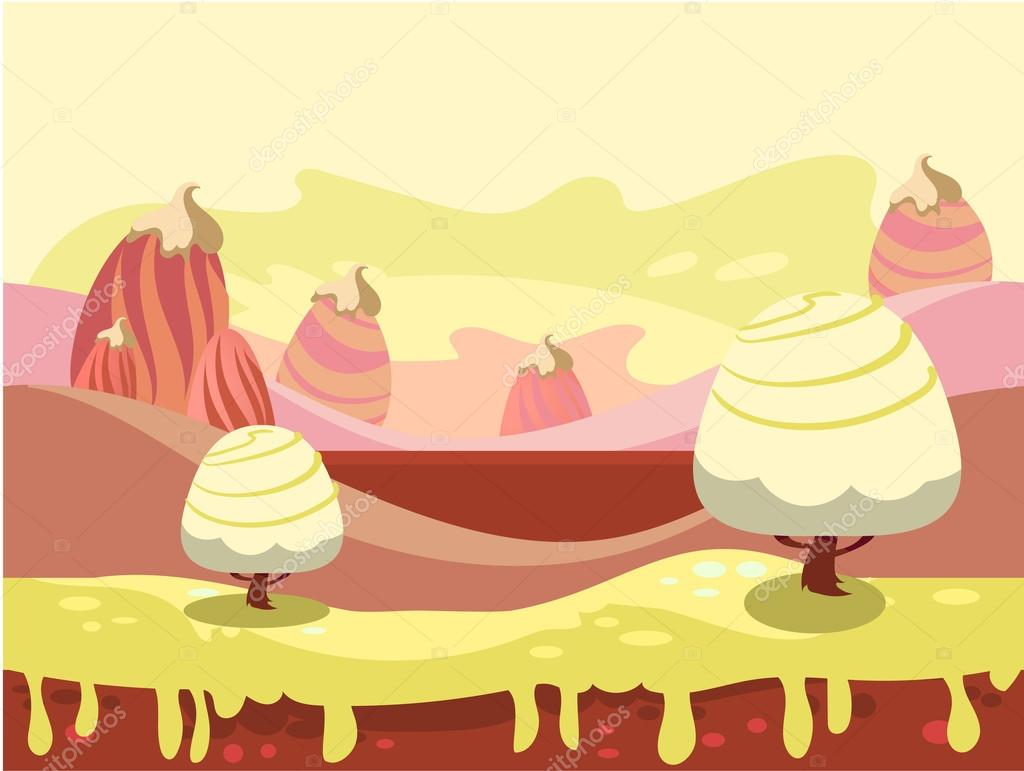 Candy Land Vector