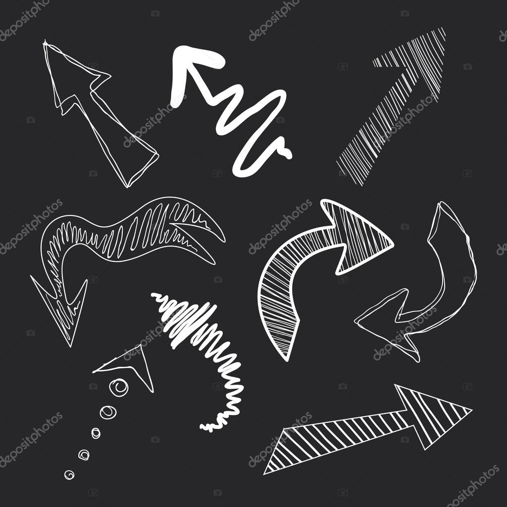 Set of arrows in chalk