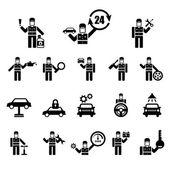 Photo Auto repair Icons