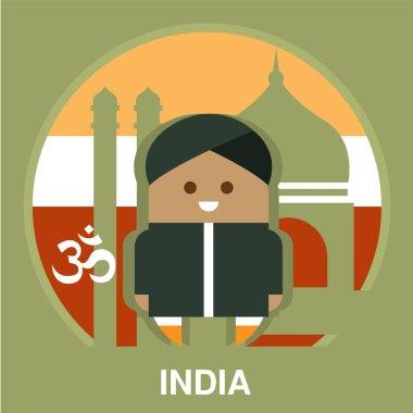 India Resident on National Background