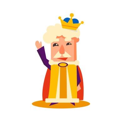 King Cartoon Emotion