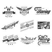 Vintage motorkerékpár-Címkék