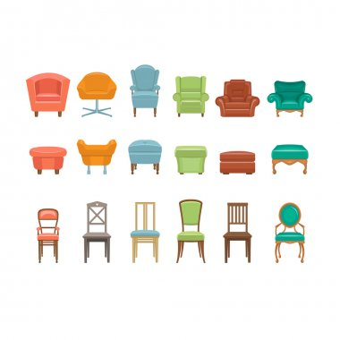 Furniture for Sitting Icons