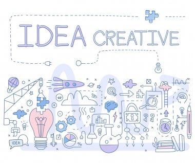 Creative Idea. Vector Illustartion
