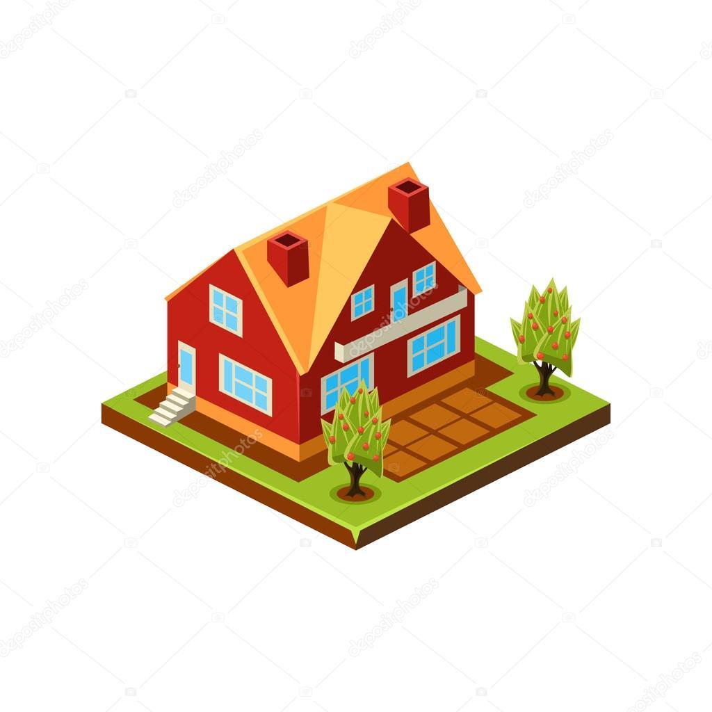 Representing modern house