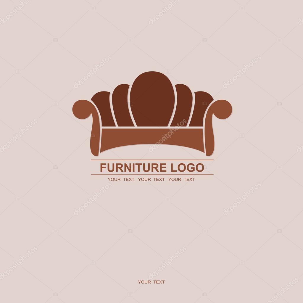 sofa furniture logo for your business element design