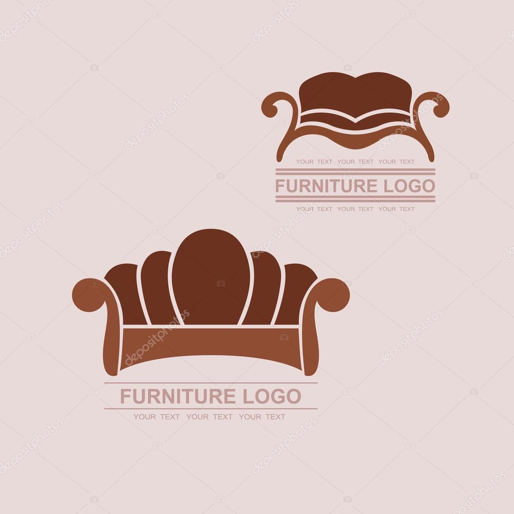 Sofa logo vector sofa ideas for Chair logo design