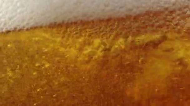 Cold Light Beer in a glass with water drops. Craft Beer close up.