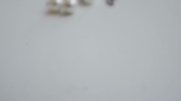 silver jewelry with Pearl close up slider
