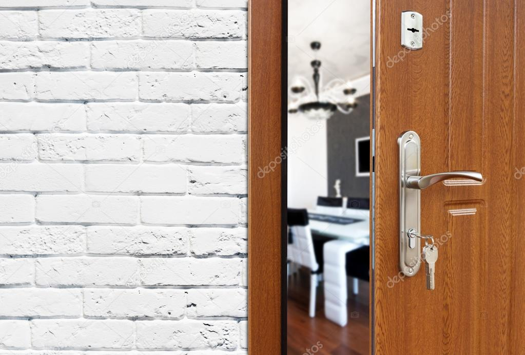open door welcome. Beautiful Welcome Half Opened Door To A Kitchen Door Handle Lock Dining Room  Half Open Opening Door Welcome Concept Entrance The Room Intended Open C