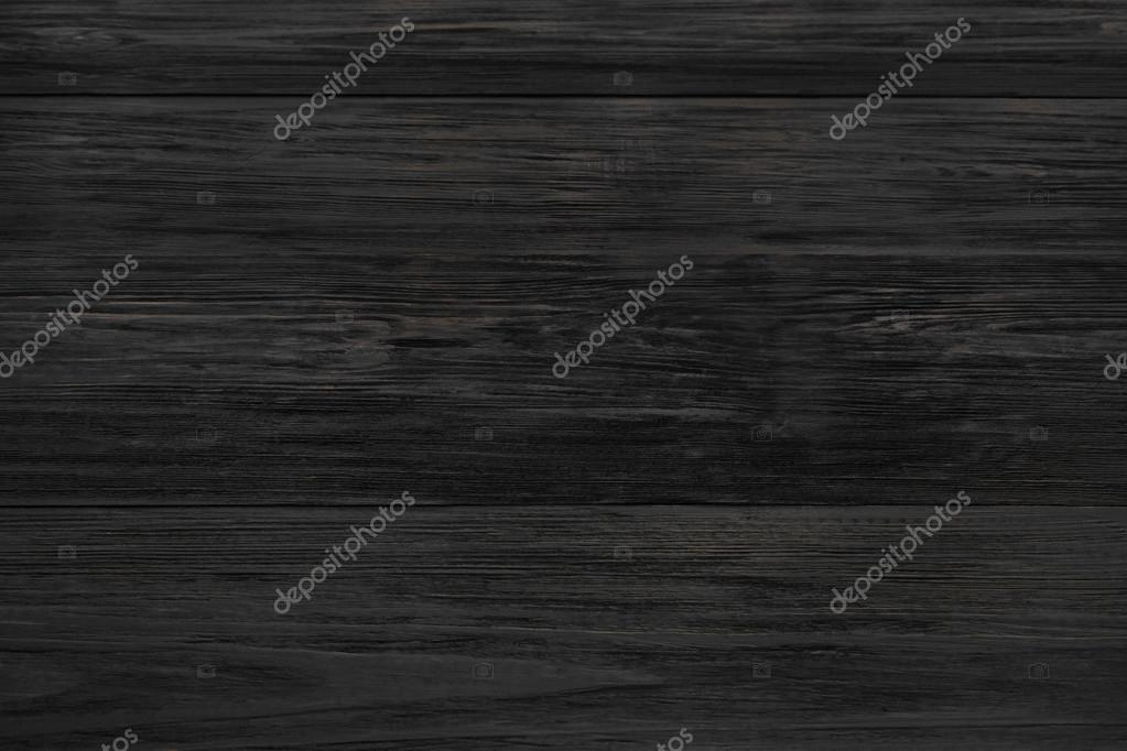 Black Rustic Wood Texture And Background Old Wooden Aged Planks Pattern Surface