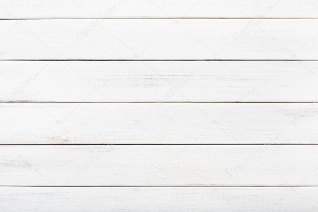 white wood texture. White Wood Floor Texture And Background. Painted Rustic, Shabby Chick Wooden Aged Planks Pattern. O