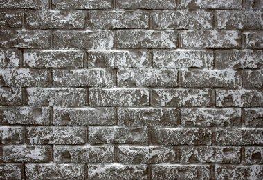 Grey brick-wall background