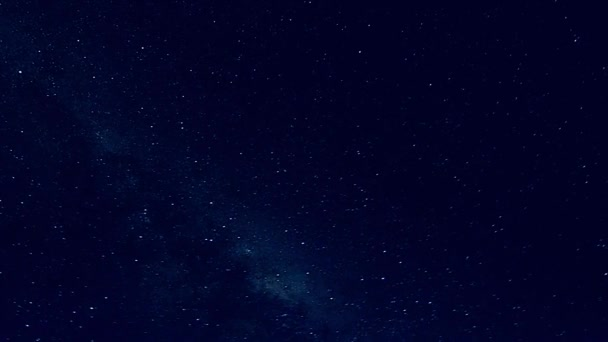 constellation, night sky with stars, time lapse video