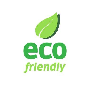 Eco Friendly Logo stock vector