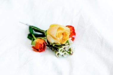 summer flowers in bouquet
