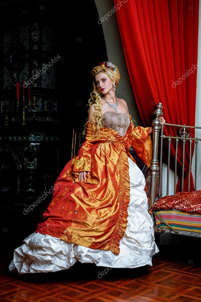 retro barokk divat nő � stock fot243 169 smmartynenko 86710234