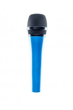 Microphone isolated on the white background.