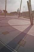 Nové sluneční hodiny na polský voják náměstí v Štětín, Evropa